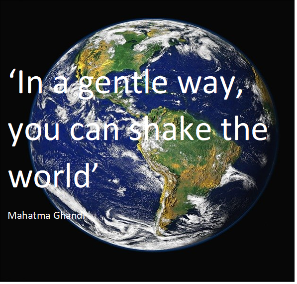 Quote Ghandi perfectiedrang.nl